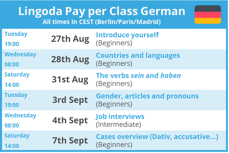 pay-per-class-lingoda-schedule-german