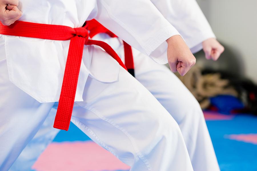 kids doing karate sports idioms