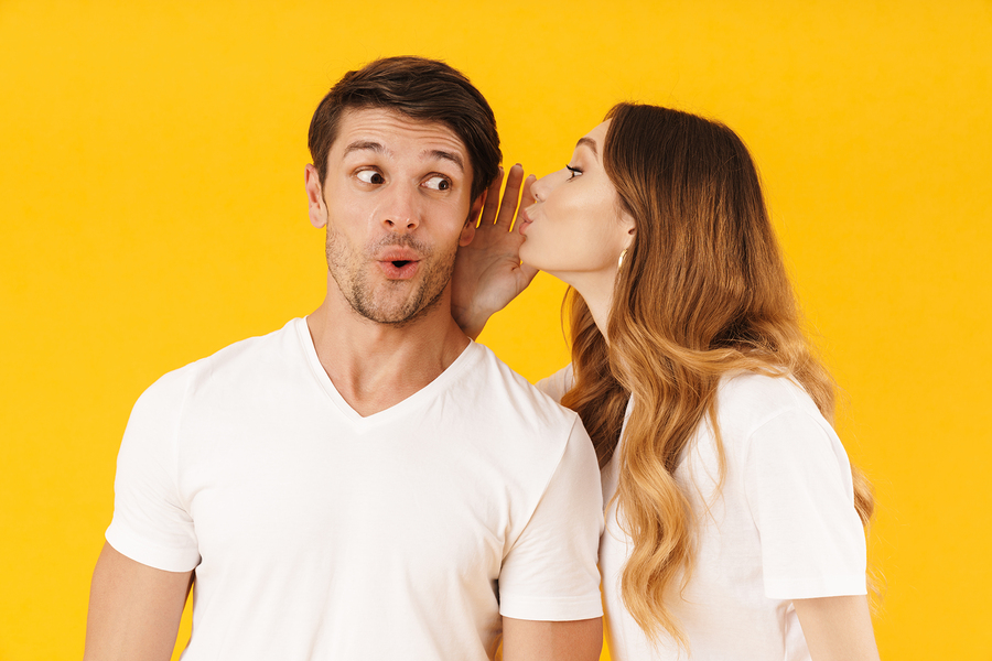 whispering-gossiping