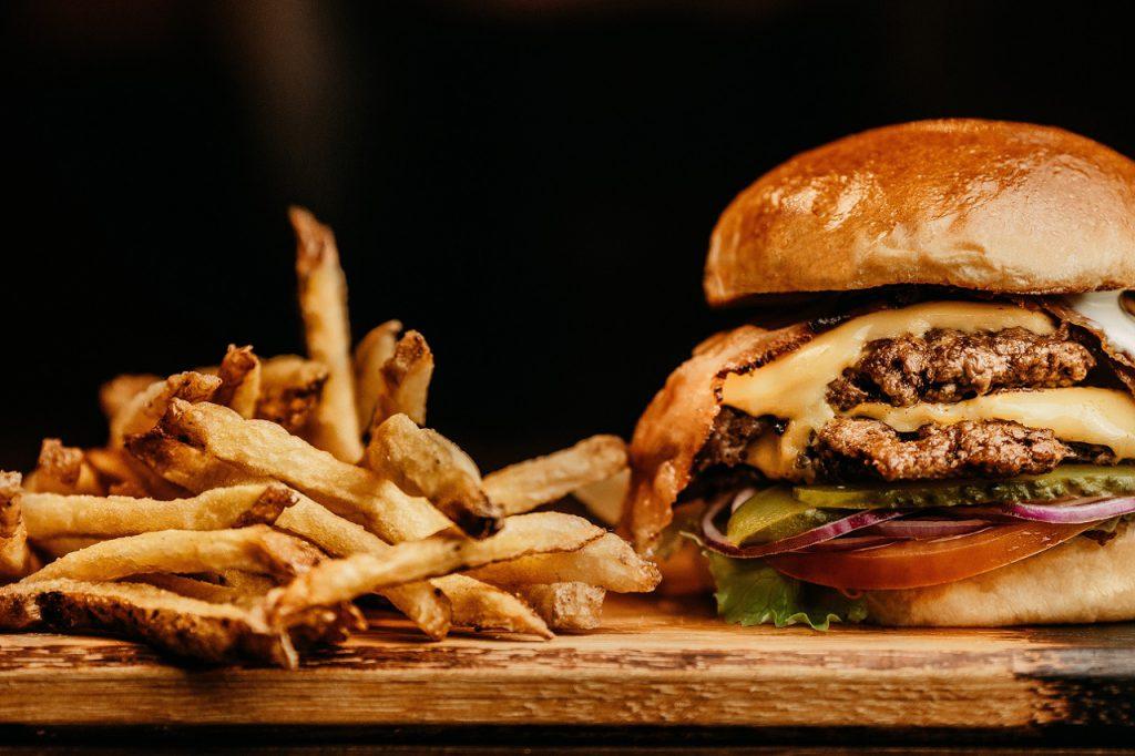 fast-food, burger