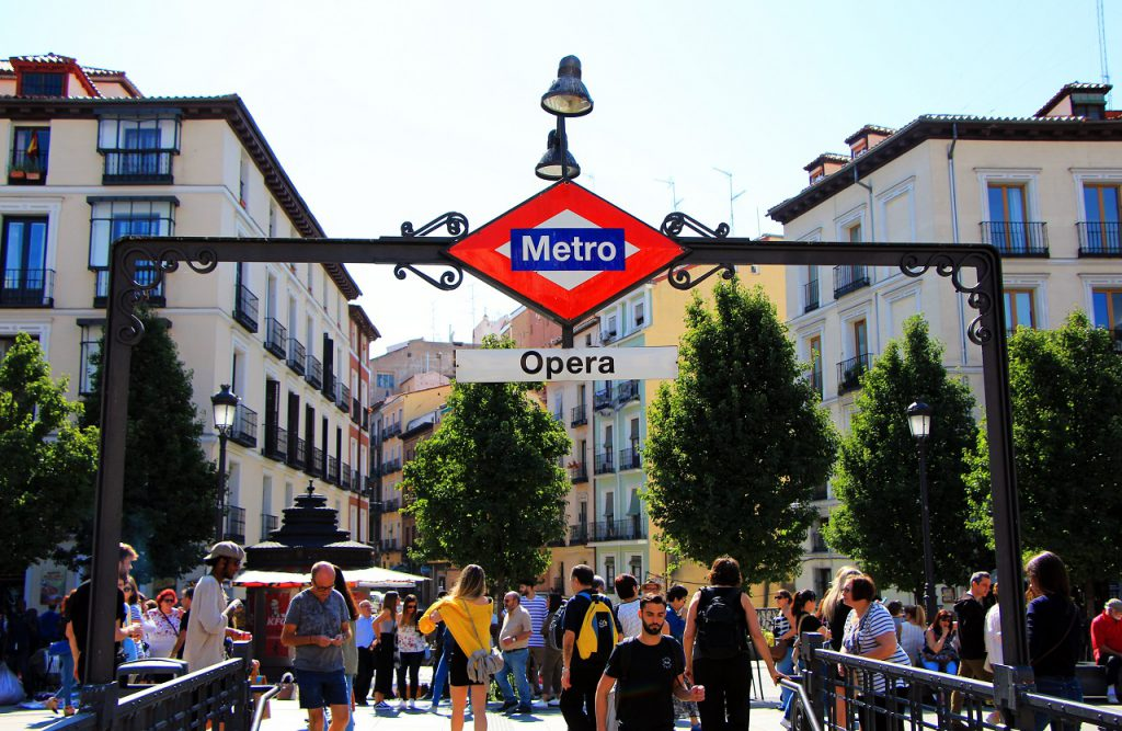 metro, madrid