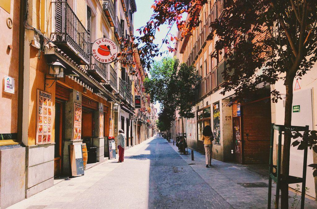 streets, madrid