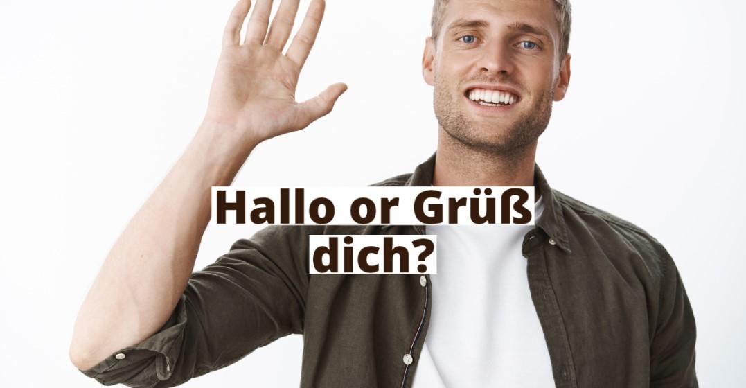 hello in german