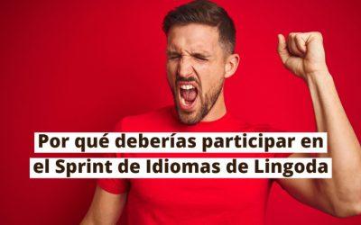 5 buenas razones para participar en el Sprint de Lingoda