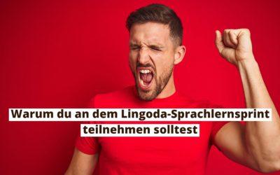 5 gute Gründe, um am Lingoda-Sprachlernsprint teilzunehmen