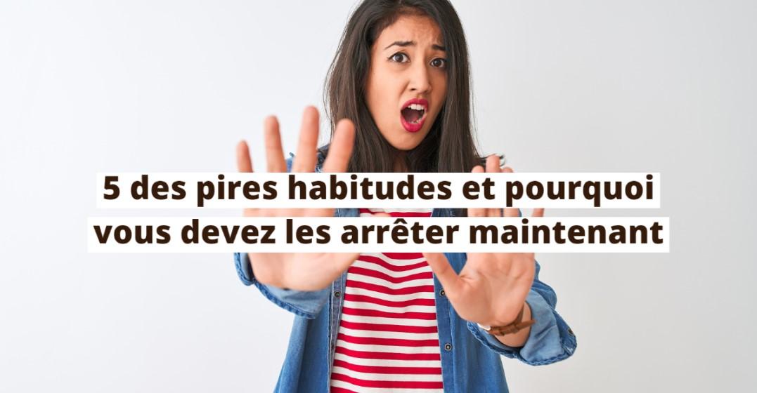5 mauvaises habitudes à arrêter maintenant si vous apprenez une langue !