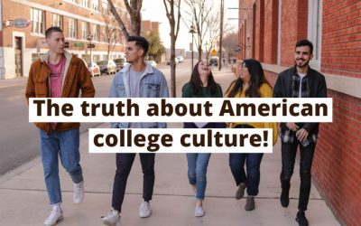 All about American college culture