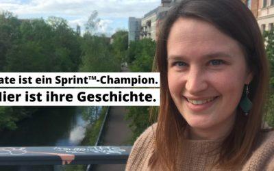 Aus den USA nach Leipzig: Kate lebt ihren Traum