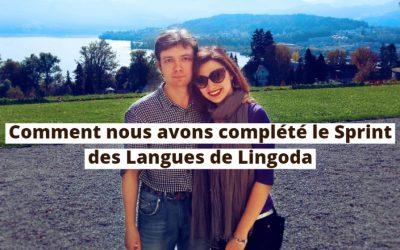 Comment nous avons complété le Sprint des Langues de Lingoda