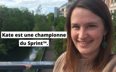 Des États-Unis à Leipzig : Kate vit la vie de ses rêves