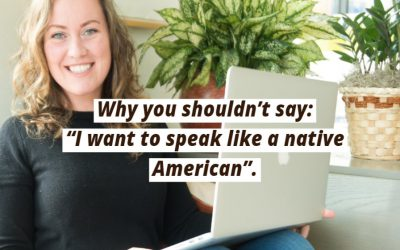 Don't Say Native American with Go Natural English
