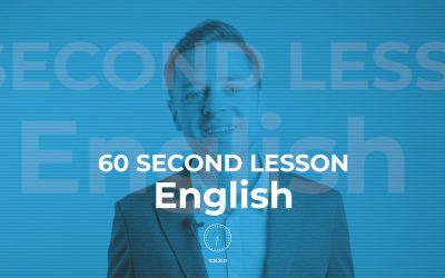 Lección de inglés en 60 segundos: los intensificadores