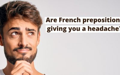 French preposition errors (and how to avoid simple mistakes).