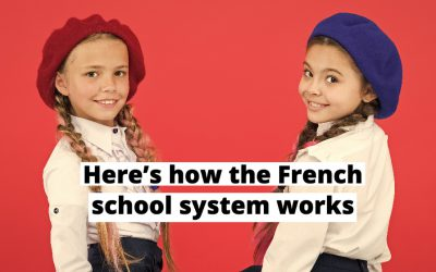 How does the French school system work?
