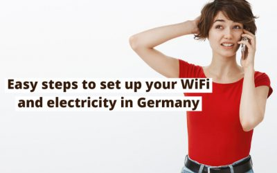 How to Set up WiFi and Electricity in Germany