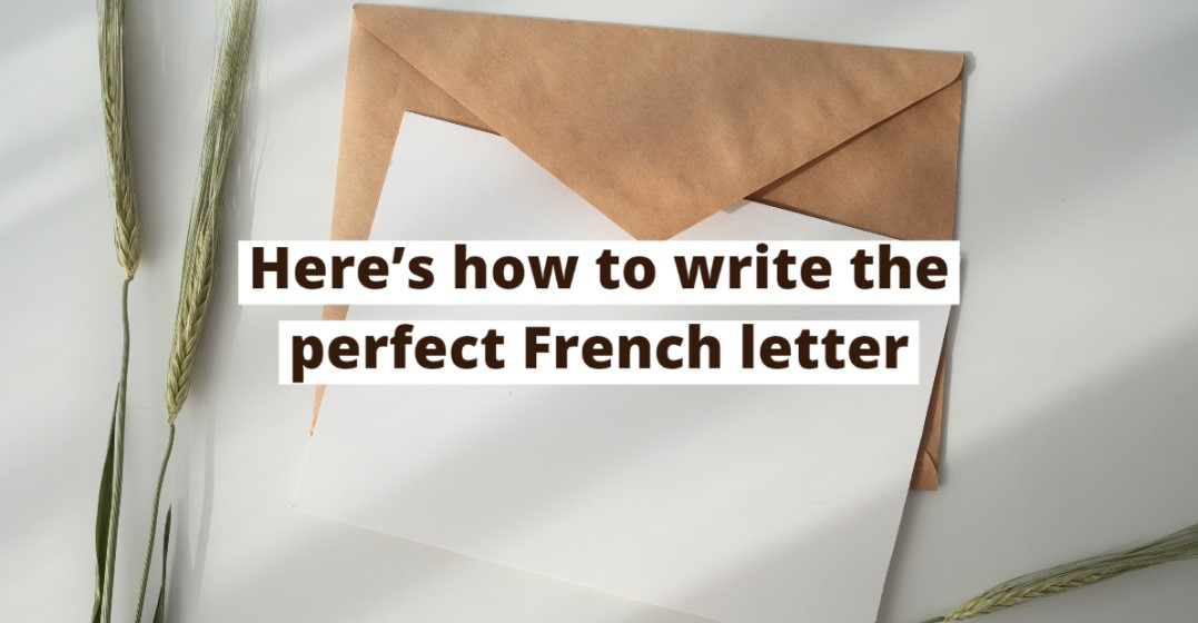 How To Write A Letter In French Lingoda Online Language School