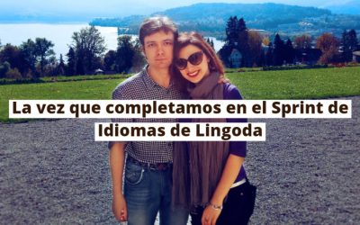 La vez que completamos el Sprint de Idiomas de Lingoda