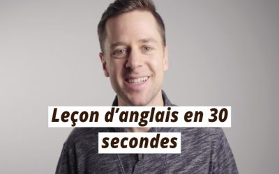 Leçon d'anglais en 30 secondes : There, their, they're