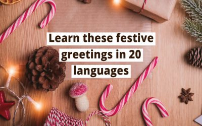 Merry Christmas and Happy New Year in 20 Languages!