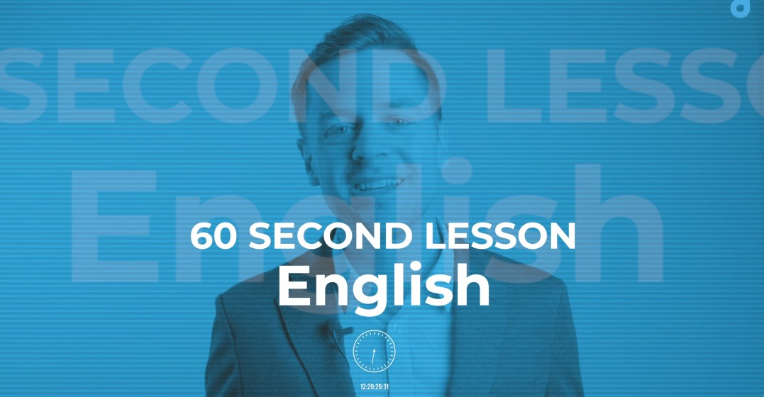 60 Second English Lesson: Modals of Obligation