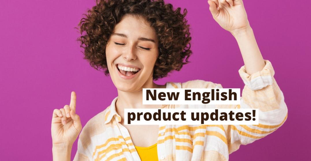 New Product Updates For Lingoda English Students!