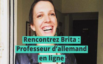 Rencontrez la brillante Brita : Une extraordinaire professeur Lingoda
