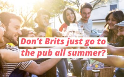 US and UK Summer Traditions ☀️