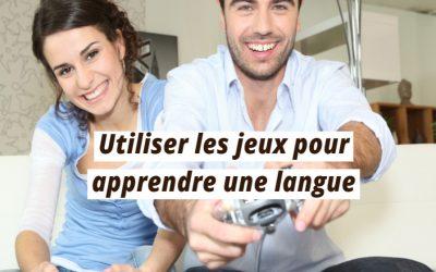 Utiliser les jeux pour apprendre une langue