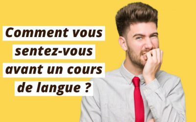 Vous vous sentez nerveux ? Voici les meilleures astuces de Lingoda pour combattre la nervosité dans l'apprentissage des langues