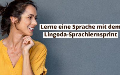 Was ist der Lingoda-Sprachlernsprint und warum reden alle darüber?