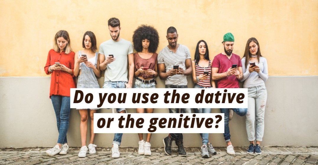 When Should You Use Dative and Genitive in German?