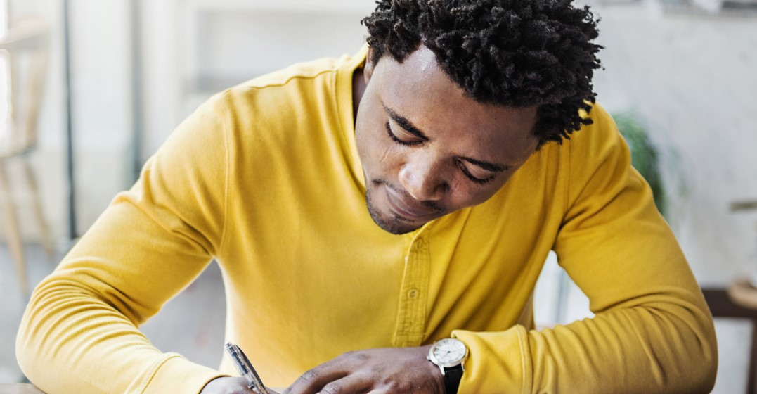 man practising Using the present perfect for life experiences